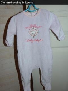 pyjama bébé fille violet kiabi